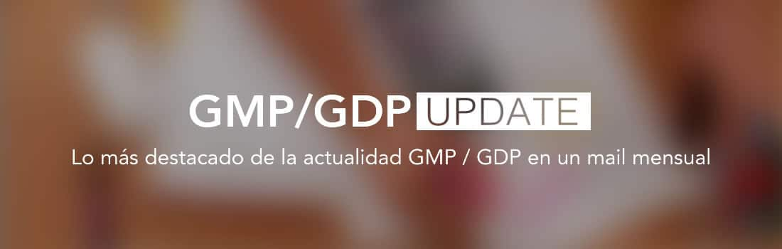 Normas GMP / GDP Update